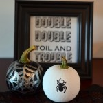 Witch Halloween Mantel Tutorial