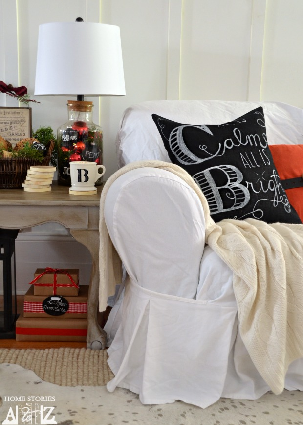 Diy Chalkboard Art Pillow Pottery Barn Knock Off Home