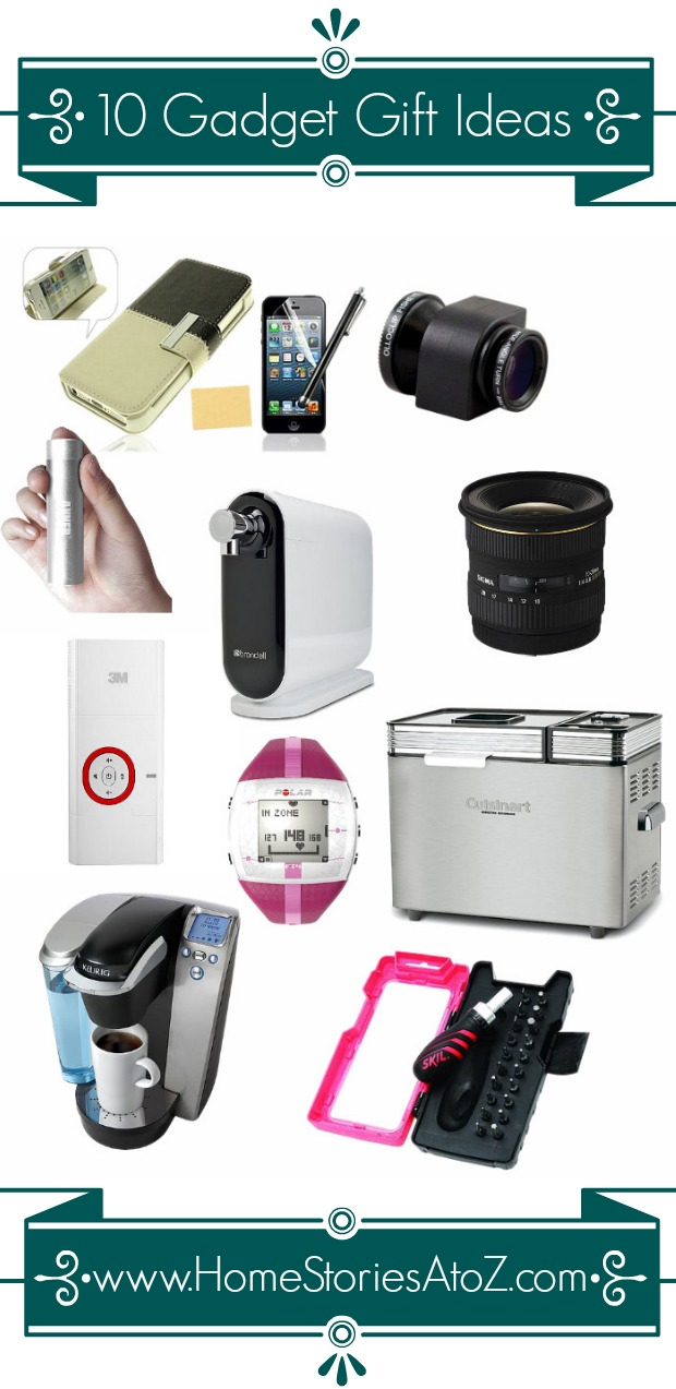 10 Gadgets I Can't Live Without {gift ideas}