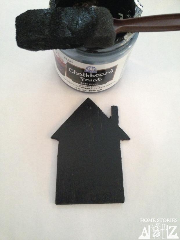 chalkboard house