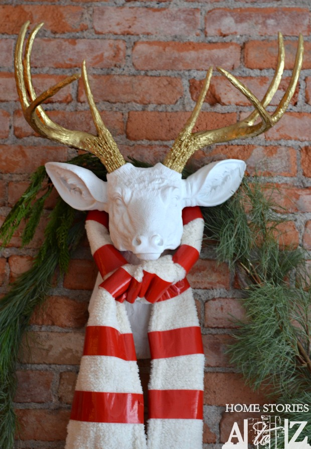Diy Faux Deer Head Home Stories A To Z