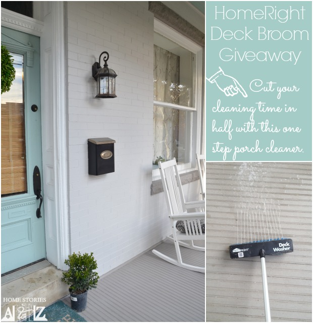 homeright deck broom giveaway