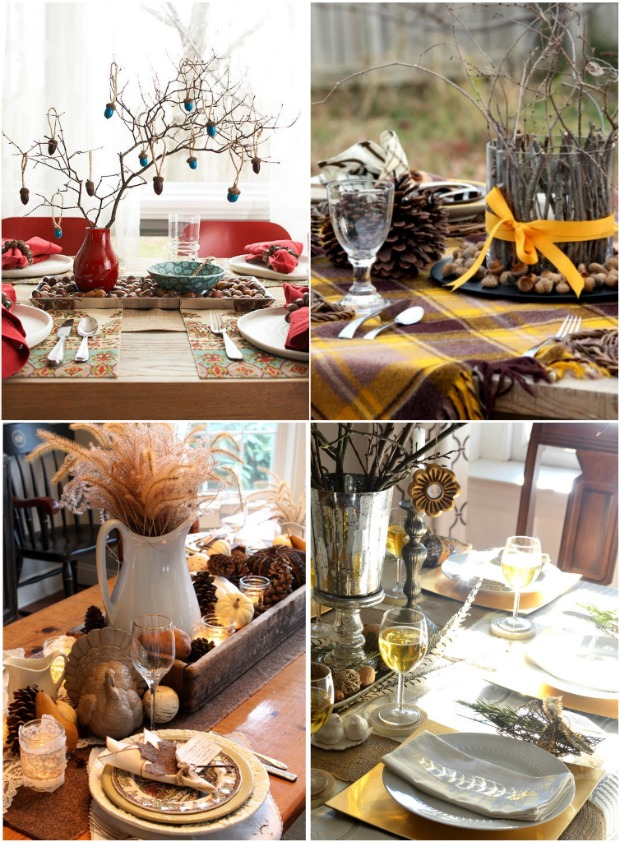 Affordable Ideas For Thanksgiving Decorating Home