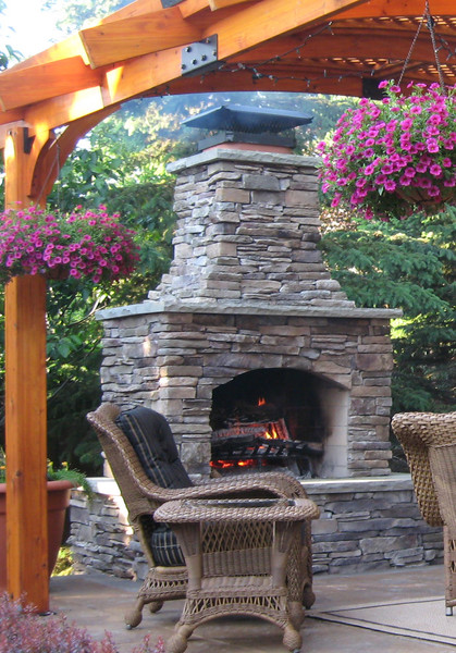 Win $20,000 Inspiring Moments Sweepstakes Homes.com & HGTV on Backyard Outdoor Fireplace id=81311