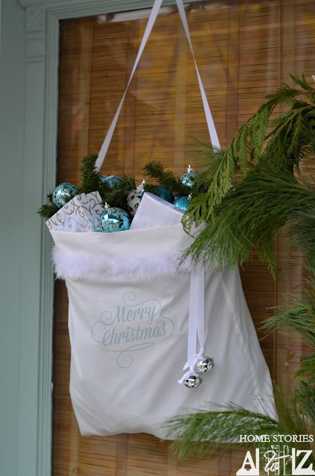 santa bag door