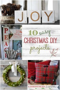 10 easy Christmas DIY projects