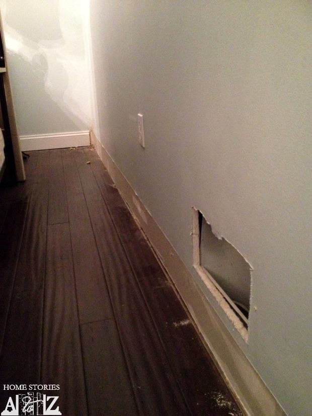 plank wall prep