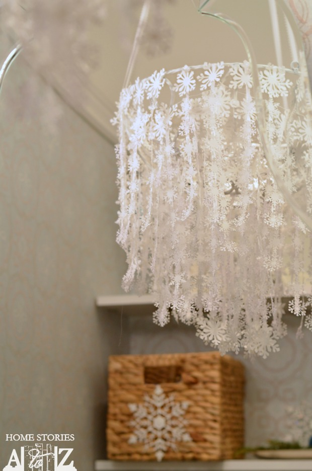 snowflake chandelier