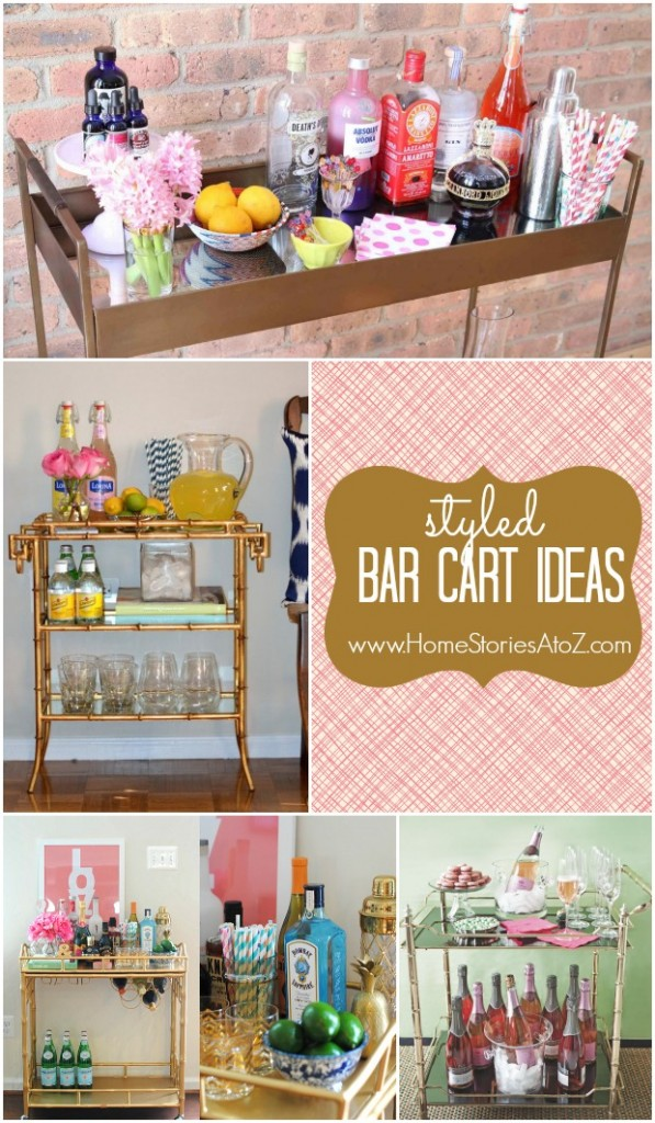 Trend Alert The Styled Bar Cart Home Stories A To Z