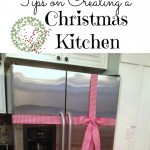 tips on creating a Christmas kitchen