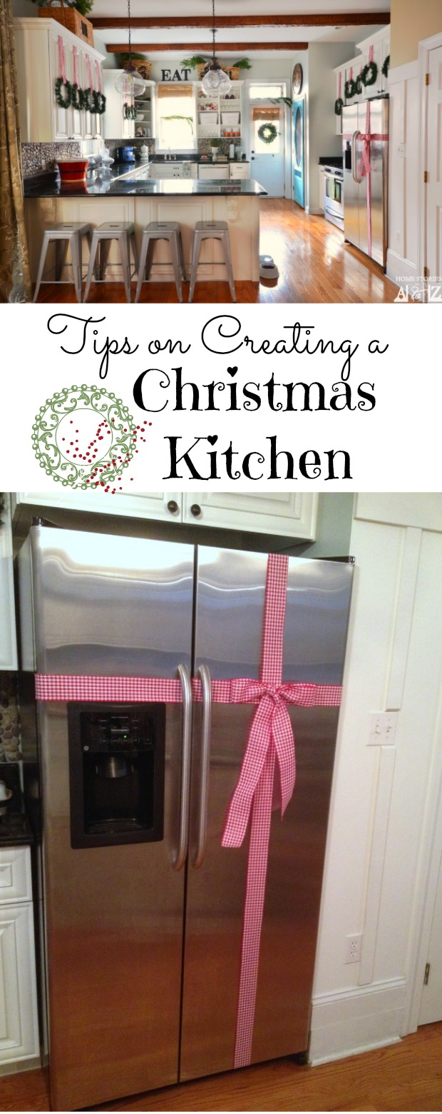 Tips on how to decorate your kitchen for christmas home for Decorate my kitchen