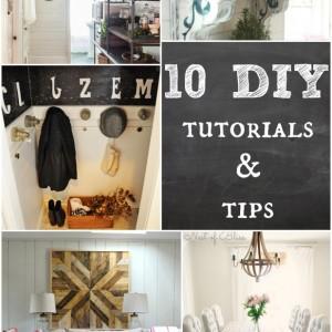 10 DIY tutorials and tips