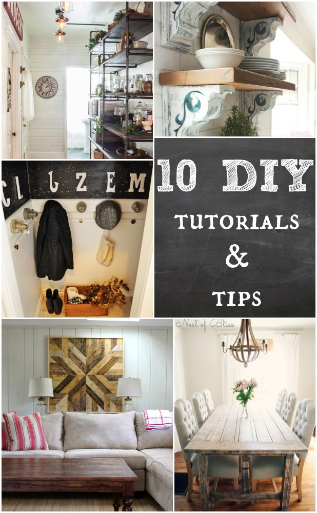 10 DIY Tutorials & Tips