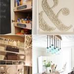 10 DIY Home Decor Tutorials & Tips