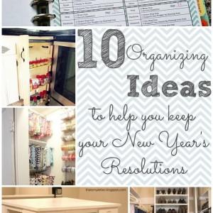 10 organizing ideas