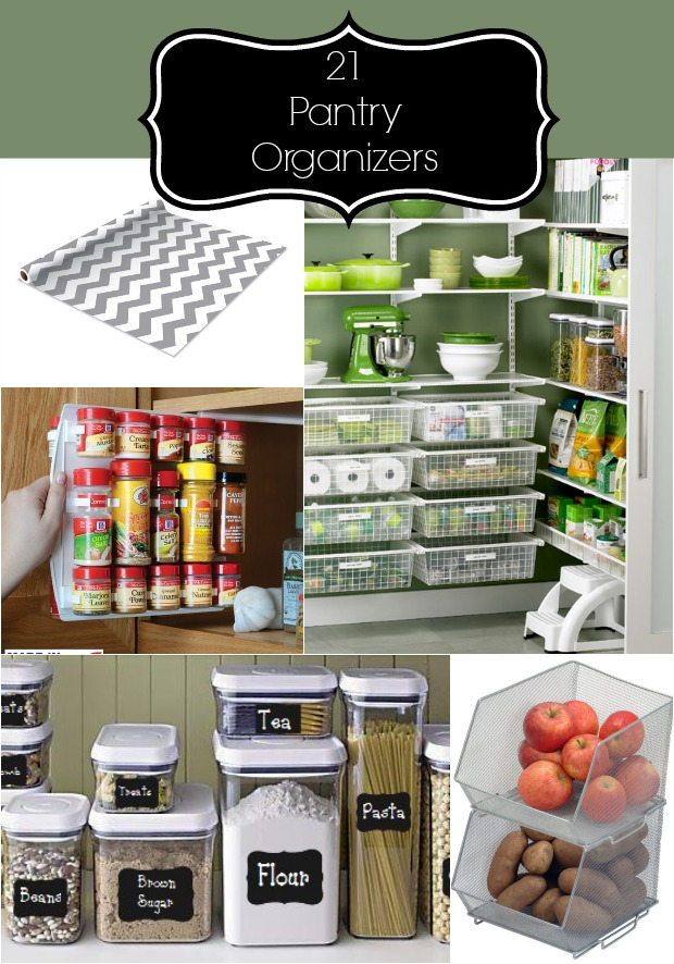 21 Items For An Organized Pantry Home Stories A To Z