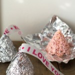 Hershey's Kiss Shaped Rice Krispies Treats