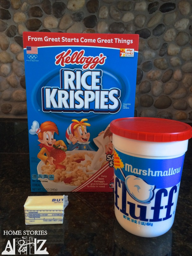 Marshmallow fluff rice krispie treat recipe