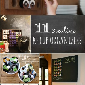 creative k-cup organizers