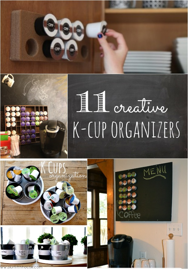 creative k-cup organizers
