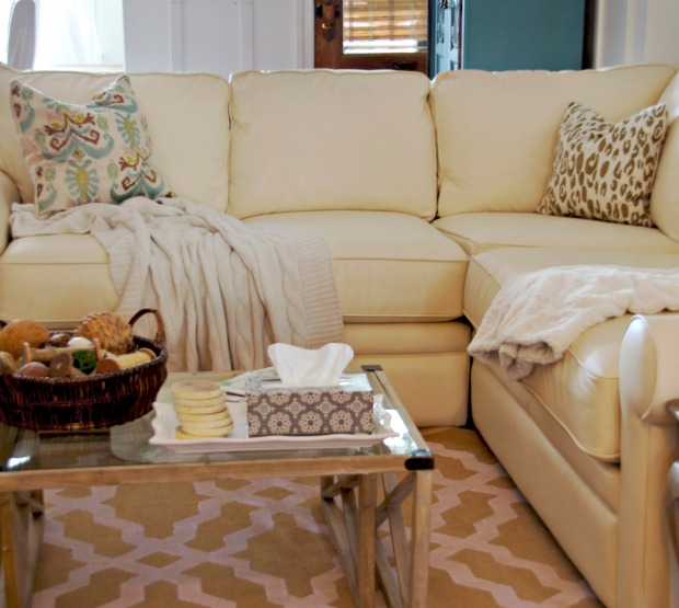 Decorate with stylish tissues from kleenex home stories - How to decorate a family room ...