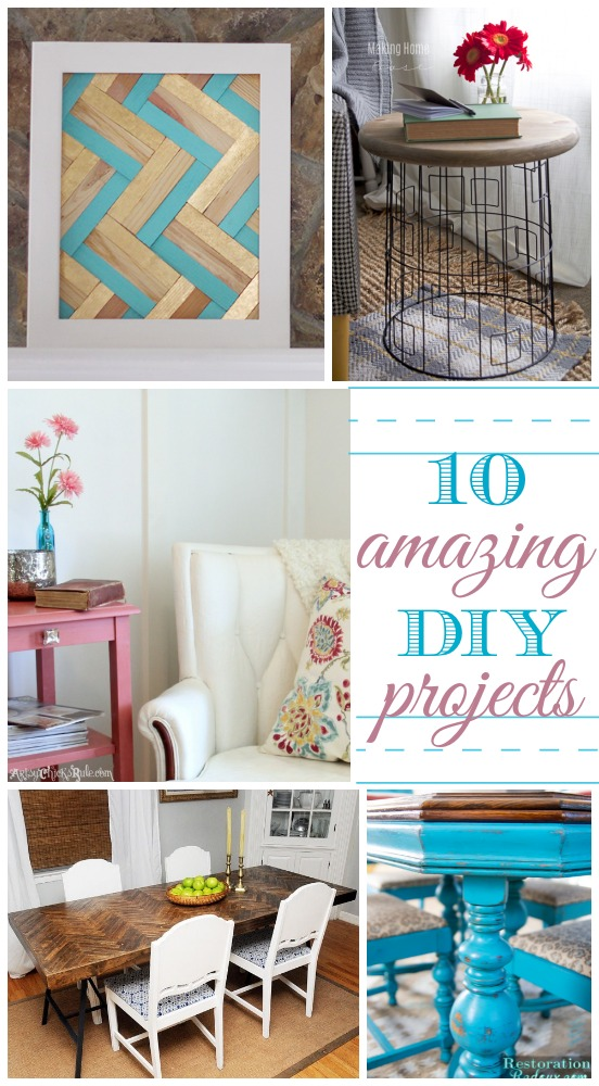 10 Amazing DIY Blogger Projects