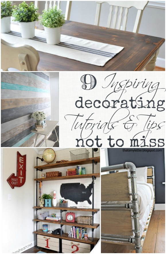 9 inspiring decorating tutorials and tips