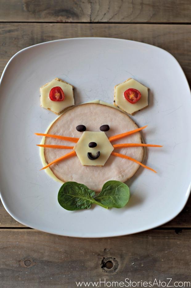 Mouse sandwich gluten free snack.