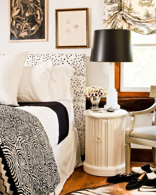 At Home Decor: Trend Alert: Dalmatian Print Home Decor