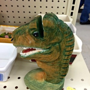 dinosaur napkin holder