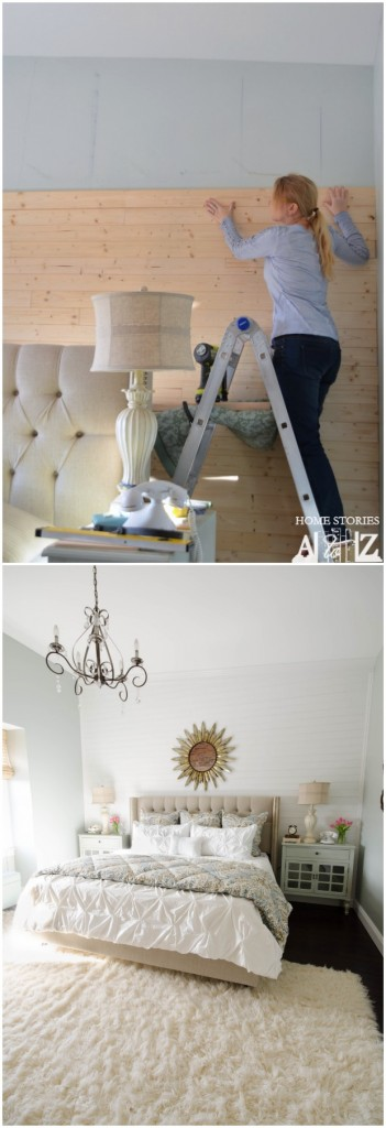 diy plank wall how to tutorial