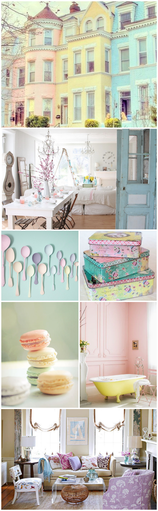 pastel trend in home decor