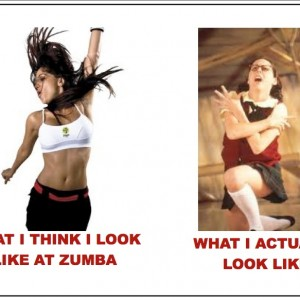 what i look like zumba