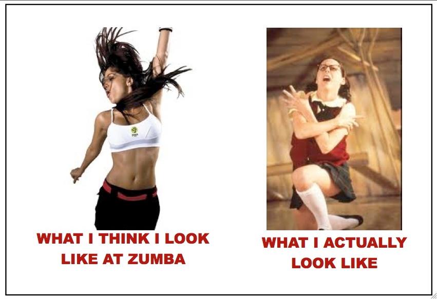 what i look like zumba