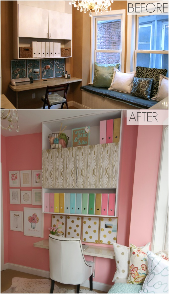 Sherwin Williams Hopeful Craft Room Home Stories A To Z