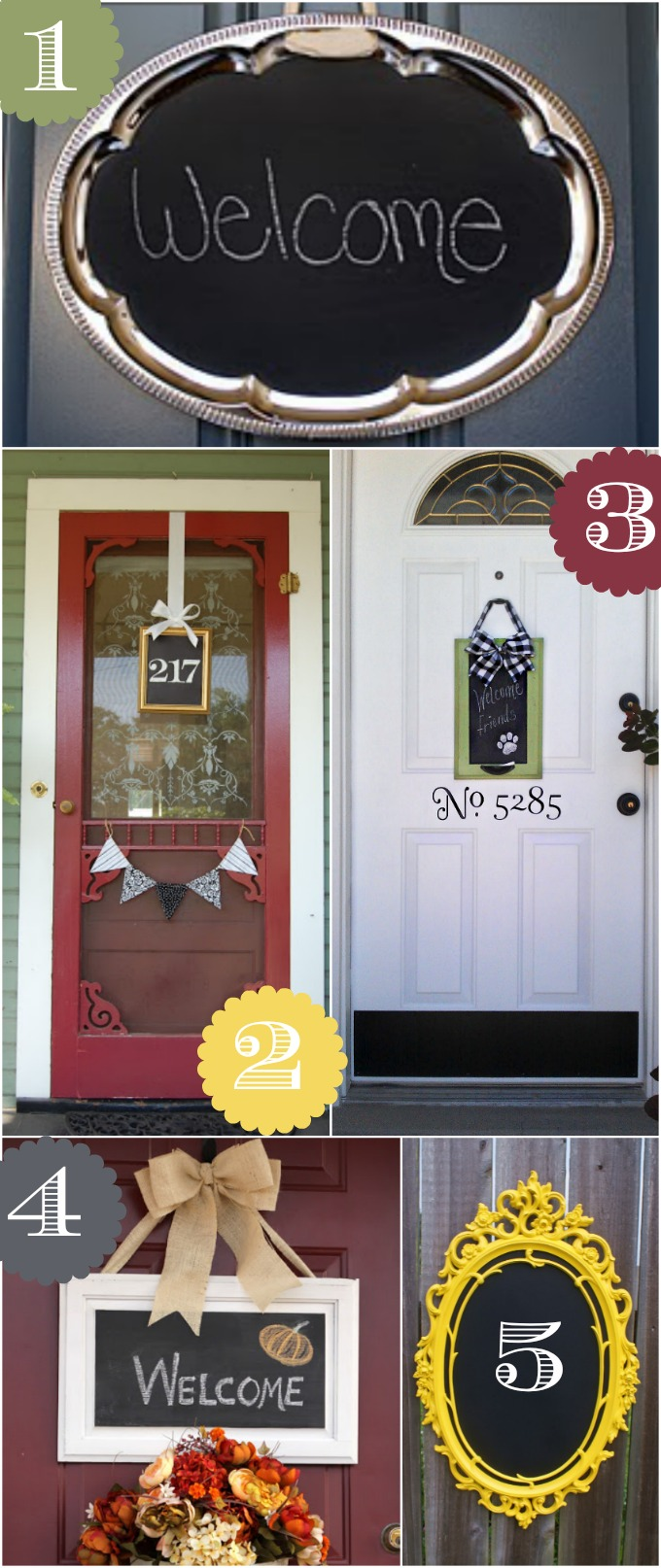Admirable 36 Creative Front Door Decor Ideas Not A Wreath Home Stories A Largest Home Design Picture Inspirations Pitcheantrous