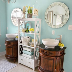 Master Bathroom In Watery Sherwin Williams