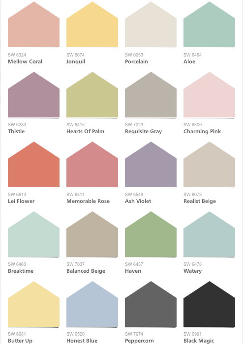 how to find your color story paint giveaway home stories a to z. Black Bedroom Furniture Sets. Home Design Ideas