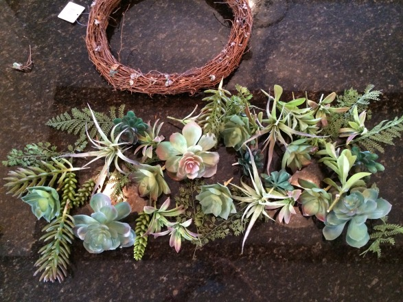 Take apart wreath