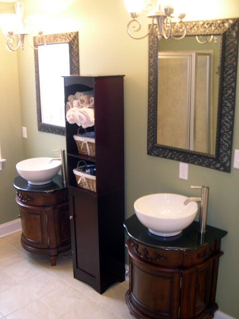 sherwinwilliams watery bathroom makeover  home stories a to z, Bathroom decor
