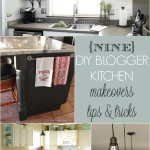 9 DIY blogger kitchen makeovers