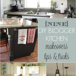 9 DIY blogger kitchen makeovers