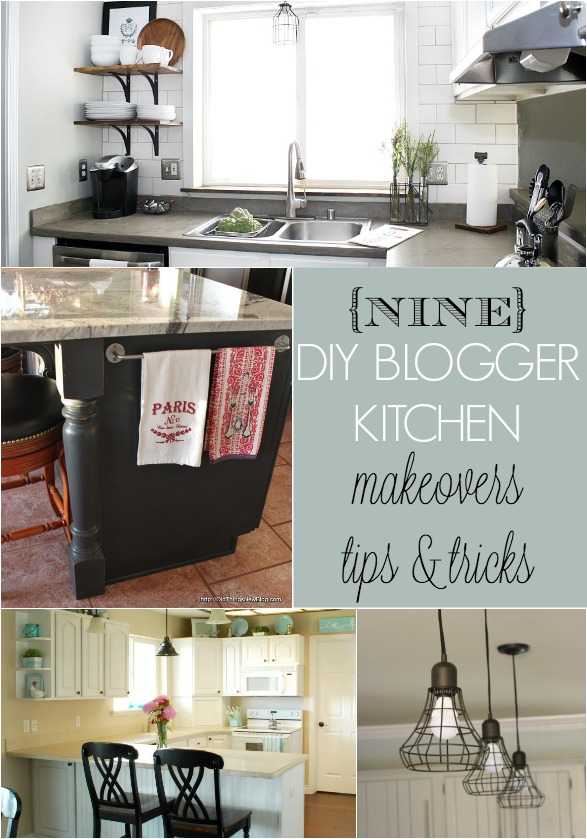 Diy kitchen makeover budget 37 brilliant diy kitchen makeover ideas 9 diy blogger kitchen makeovers home stories a to z solutioingenieria Gallery
