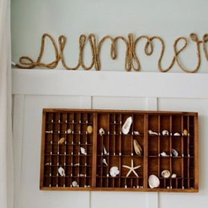DIY Rope Words