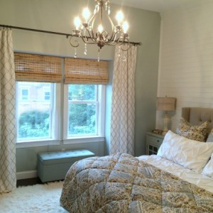 How to hang curtain rod