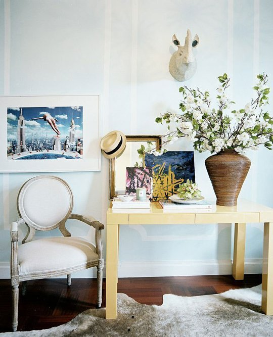 example of eclectic decorating done right