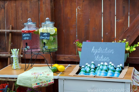 Outdoor Beverage Center Idea Kirkland S Summer Soiree