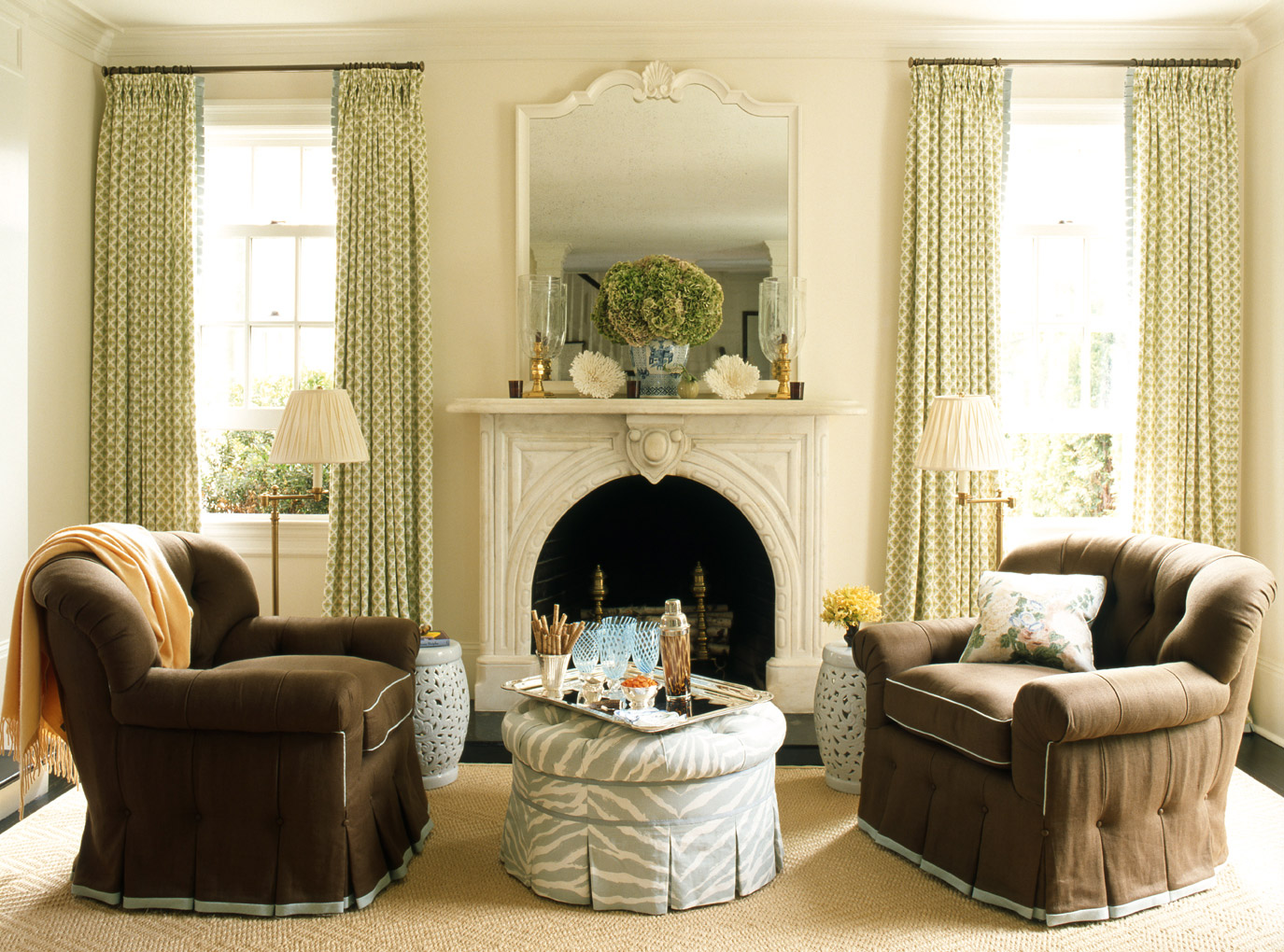 Traditional Living Room Example
