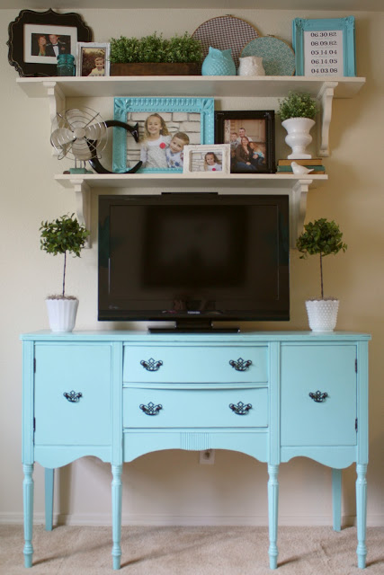 vintage tv stand ideas 3