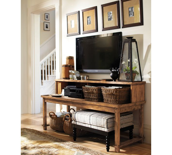5 tips for decorating around a television home stories a. Black Bedroom Furniture Sets. Home Design Ideas